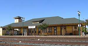 Lodi Transit Center - Image: Lodi Amtrak station