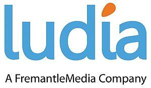 Ludia - Image: Logo Ludia FM Colour