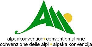Alpine Convention - Logo of the Alpine Convention