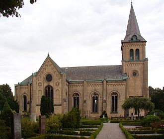 Lomma Municipality - Lomma church