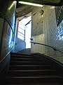 London, North-Woolwich, Woolwich foot tunnel stairs.jpg