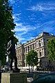 London - Whitehall - View SW on Alan Brooke Statue 1993 by Ivor Roberts-Jones.jpg
