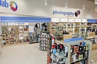 London Drugs - Photography section of London Drugs Store 85 in Abbotsford, BC