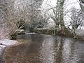Looking upstream to a small weir - geograph.org.uk - 1122778.jpg