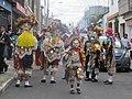 Los españoles. Traje tradicional de la Danza de los Moros, Guatemala.jpg