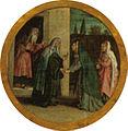 Lotto, madonna del rosario 04 visitazione.jpg