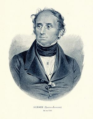 Louis Joseph Sanson - Louis Joseph Sanson