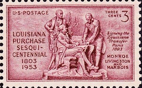 Louisiana Purchase 1953 Issue-3c