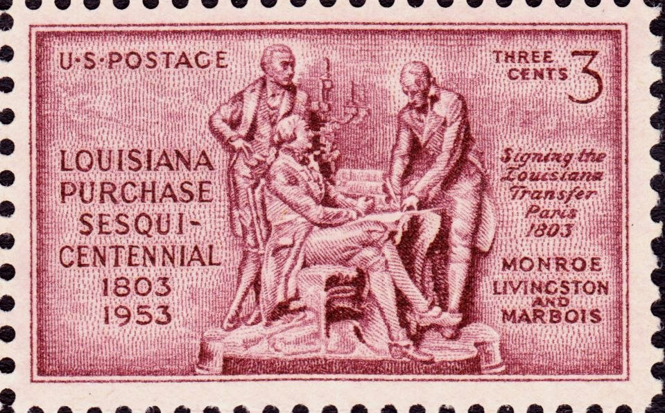 Louisiana Purchase 1953 Issue-3c