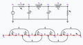 Low pass ladder filter and its signal flow graph.png