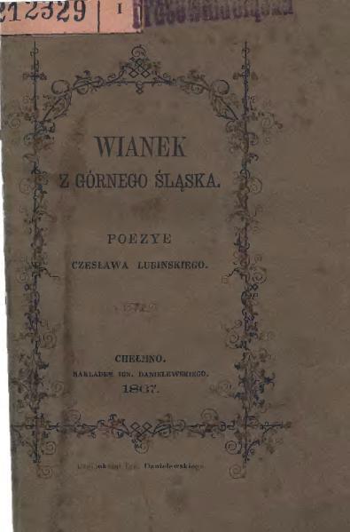 File:Lubiński - Wianek z Górnego Śląska.djvu