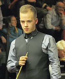 Luca Brecel at Snooker German Masters (Martin Rulsch) 2014-01-29 01.jpg