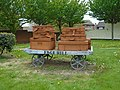 Luggage trolley sculpture, Edge Hill.jpg