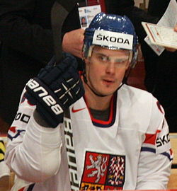 Lukáš Krajíček - Czech national ice hockey team IHWC 2012.jpg