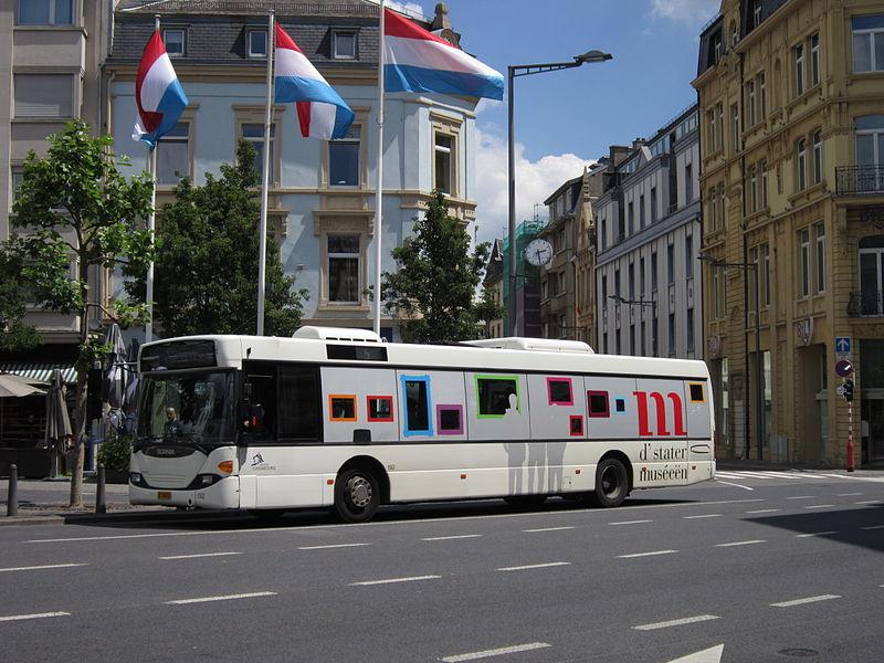 Dicas de transporte público em Luxemburgo