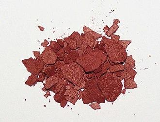 Lycopene - Image: Lycopene powder