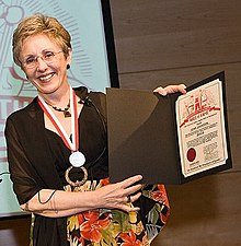 Lynn Johnston at the The Doug Wright Awards 2008 (cropped).jpg