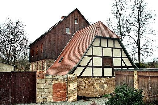 Müllerdorf (Salzatal), die Wassermühle