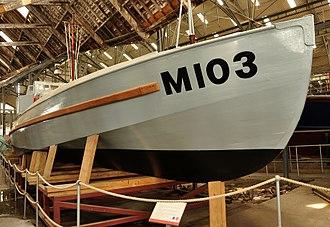 Coastal Motor Boat - CMB 103 at Chatham