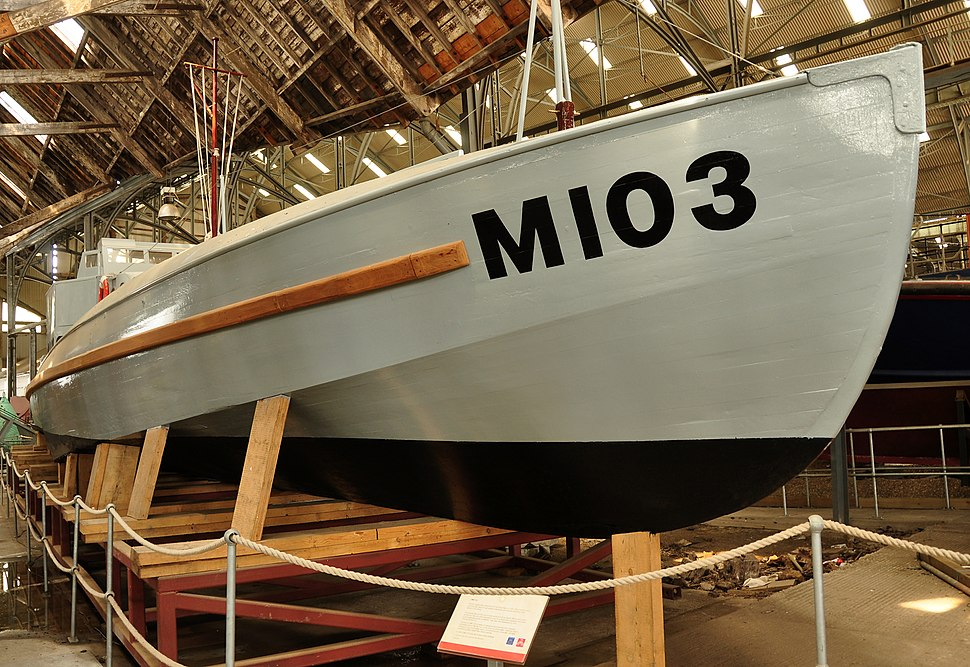 M103 at Chatham Dockyard