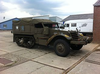 M3 Half-track - The M5 personnel carrier