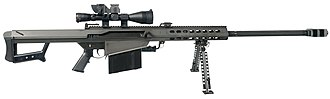 Barrett M82 - The M82A1
