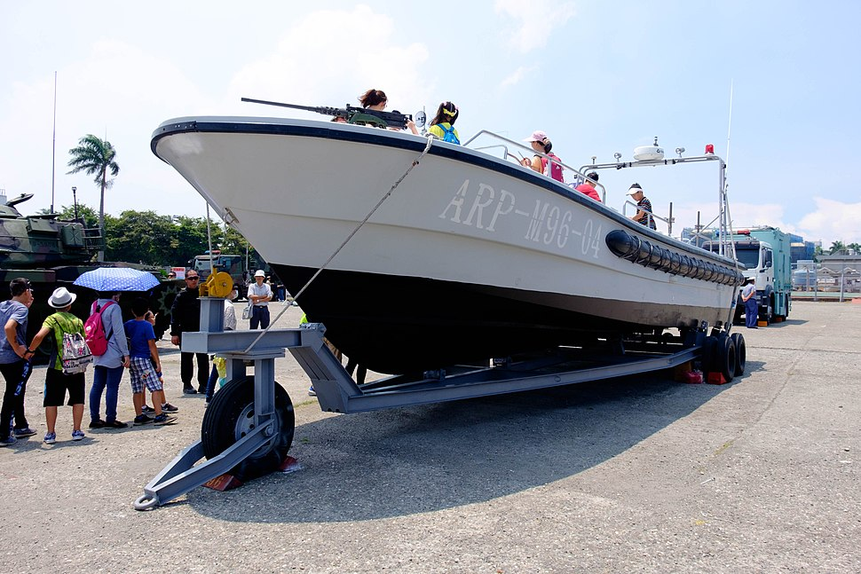 M96 Motorboat Display at Navy Fleet Command Ground 20170715Fa