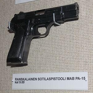 MAB PA-15 pistol - PA-15 Pistol