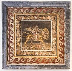 Little Eros-Bacchus on a tiger