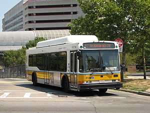 Ruggles (MBTA station) - Image: MBTA 47 bus leaving Ruggles