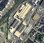 MBTA Everett Shops satellite image, December 2010.JPG