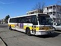 MBTA route 80 bus near Magoun Square, February 2017.JPG