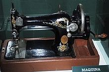 Maquina De Coser Wikipedia La Enciclopedia Libre