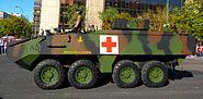 MOWAG Piranha IIIC ambulancia
