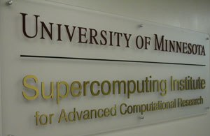 University of Minnesota Supercomputing Institute - MSI Sign