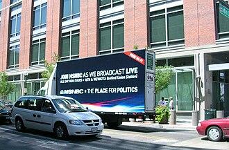 Mobile billboard - Rolling Adz Billboard truck