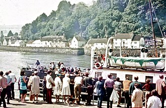 MV Balmoral (1949) - Image: MV Balmoral at Minehead Harbour