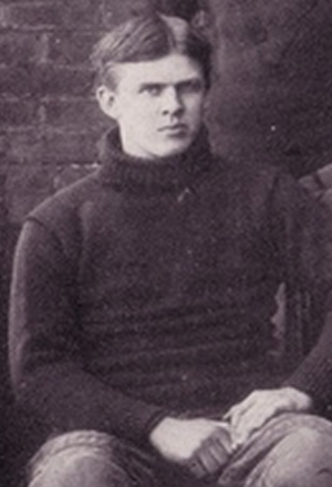 Malcolm Griffin - Malcolm Griffin in the 1899 Virginia Cavaliers football team photo