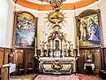 Maître-autel et retable de l'église de Saint-Cosme.jpg