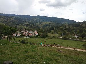 Machetá - View of Machetá