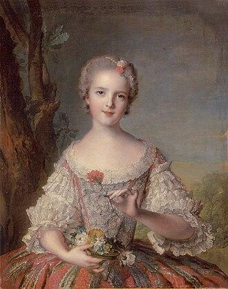Louise of France (1737–1787) - Portrait by Jean-Marc Nattier, 1748.