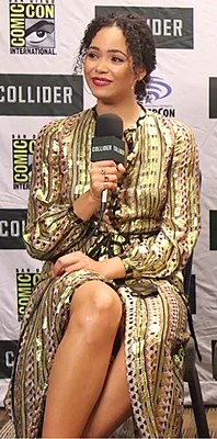 Madeleine Mantock at Comic-Con 2018.jpg