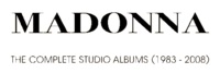 Madonna - The Complete Studio Albums (1983-2008) logo.png