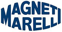 Логотип производителя автоламп магнетти Марелли