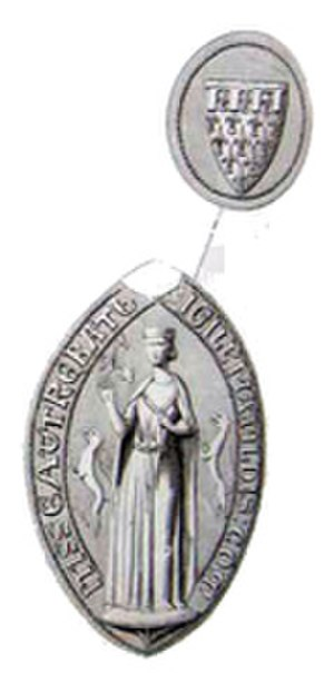 Matilda of Brabant, Countess of Artois - Medallion of Matilda of Brabant