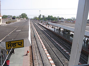 Raga (film) - Maihar Railway Station in 2009. In Raga, Shankar journeys by train to Maihar as part of his reaffirmation of his cultural roots.