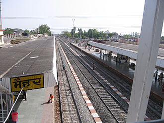 Satna district - Maihar Railway Station