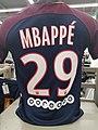 Maillot domicile PSG 2017-2018 Mbappé.jpg