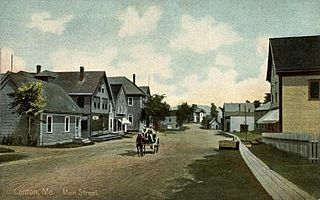 Canton, Maine Town in Maine, United States