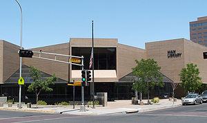 Albuquerque Bernalillo County Library - Main Library, 2007
